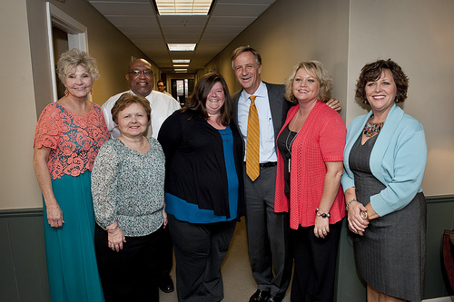 Dena with Governor Haslam
